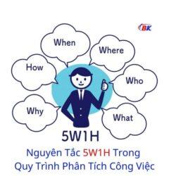 Nguyên Tắc 5W1H Trong Quy Trình Phân Tích Công Việc 7