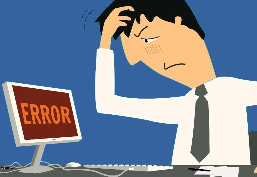 Các lỗi thường gặp khi dùng hóa đơn điện tử