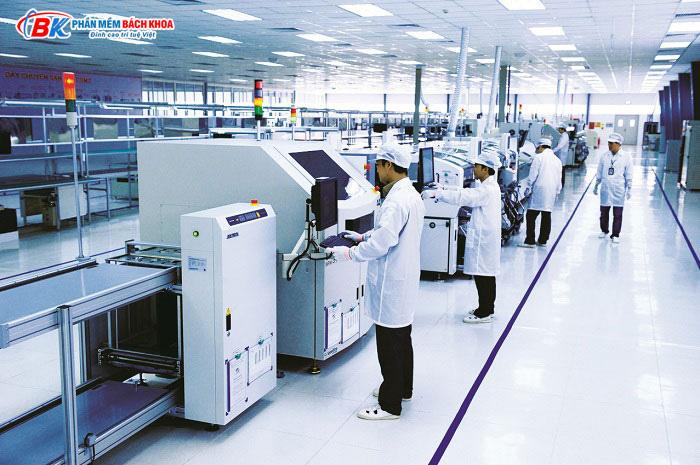địa điểm thực hiện công việc của quản lý sản xuất