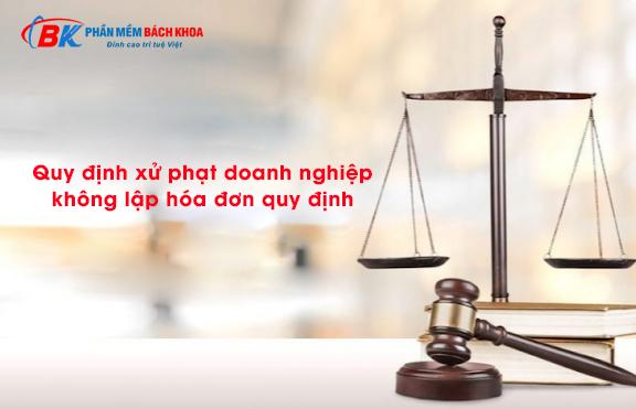 Quy định xử phạt hóa đơn điện tử