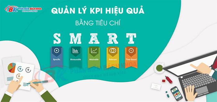 Quản lý KPI bằng tiêu chí SMART