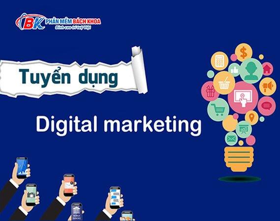 Tuyển dụng nhân viên digital marketing tại Hải Phòng